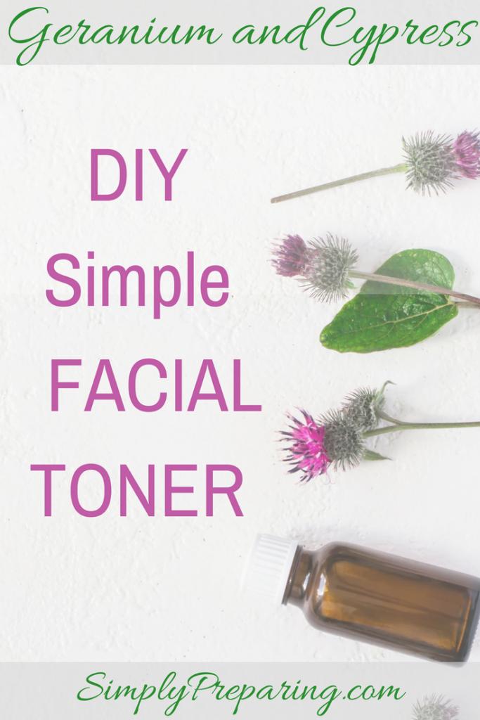 Simple DIY Facial Toner With Essential Oils
