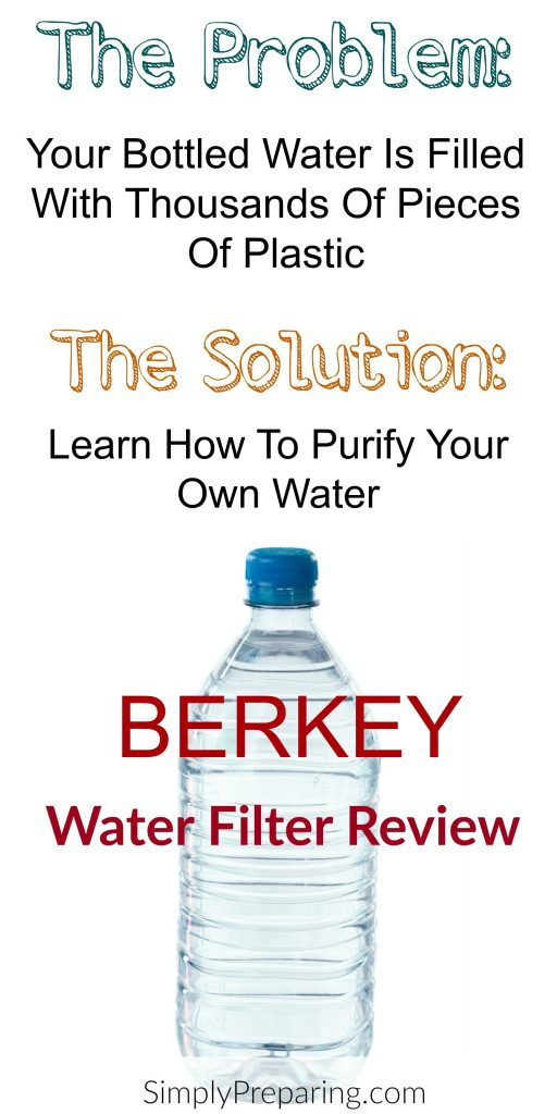 Bottled Water Contamination and Survival Water Filters
