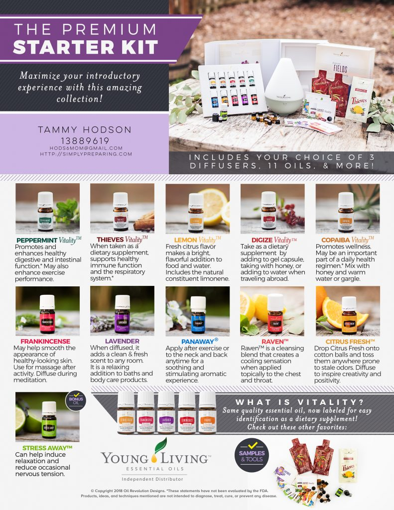 How to Order Young Living Premium Starter Kit