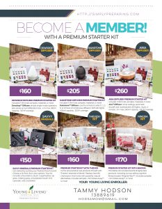 Young Living Premium Starter Kit Options