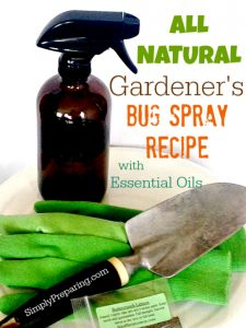 Homemade Garden Bug Spray