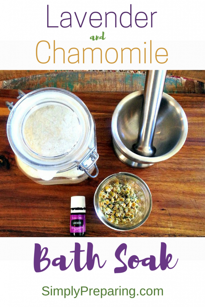 Homemade Herbal Milk Bath With Essential Oils