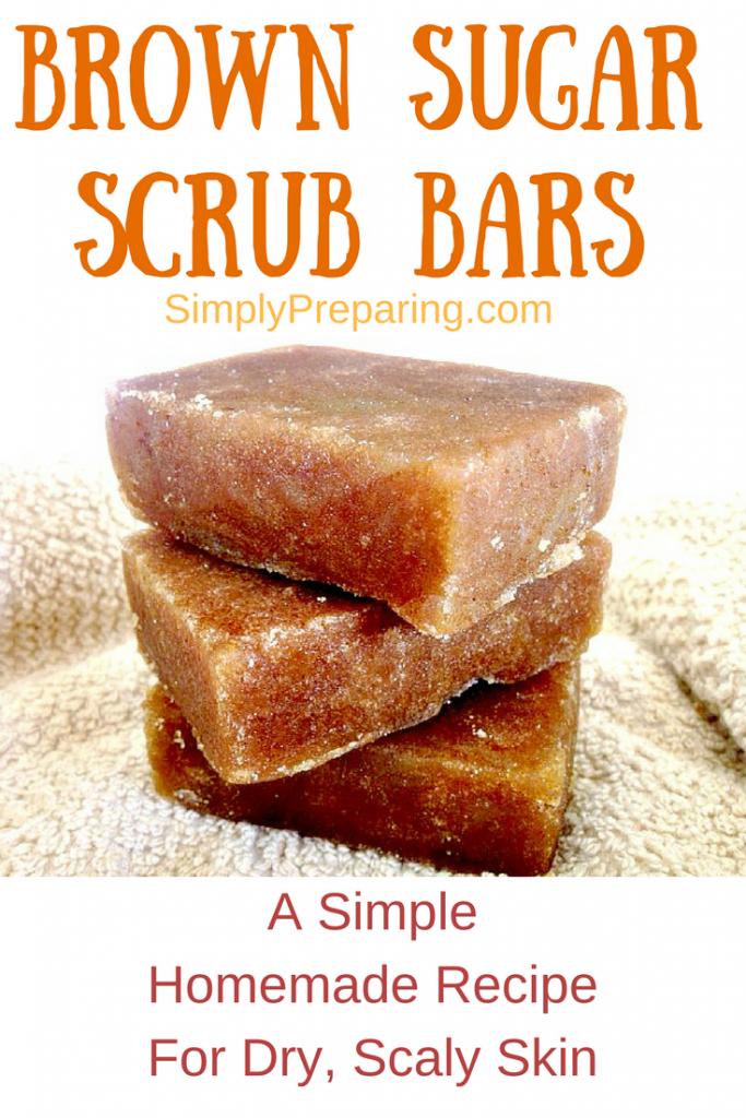 Organic Brown Sugar Scrub Bar