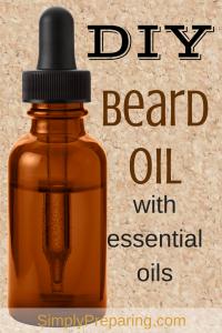 DIY Beard Oil Recipe