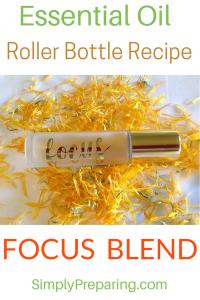 DIY FOCUSING Roller Bottle Blend
