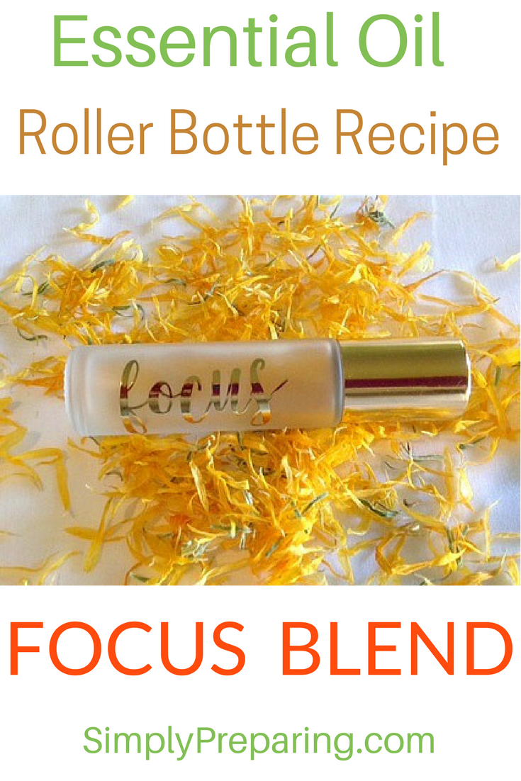 DIY FOCUSING Roller Bottle Blend