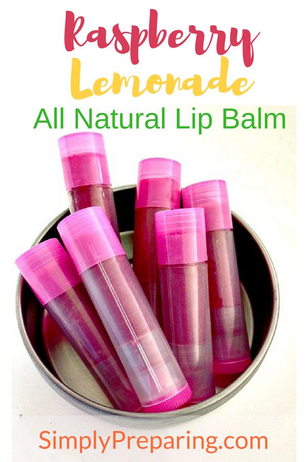 Raspberry Lemonade Lip Balm