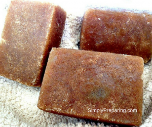 Handmade Organic Brown Sugar Scrub Bars