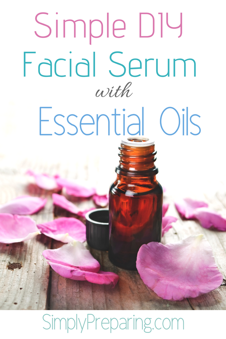 Simple DIY Face Serum With Essential Oils