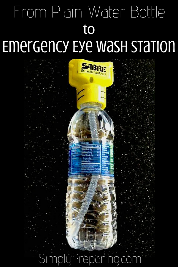 Emergency Eye Wash Adapter