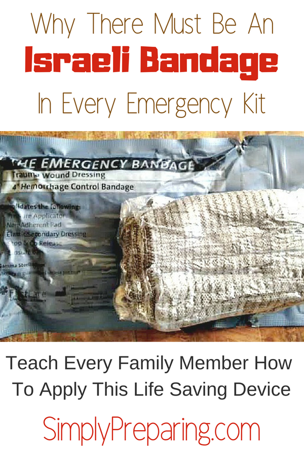 Why There Must Be An Israeli Bandage In Every Emergency Kit