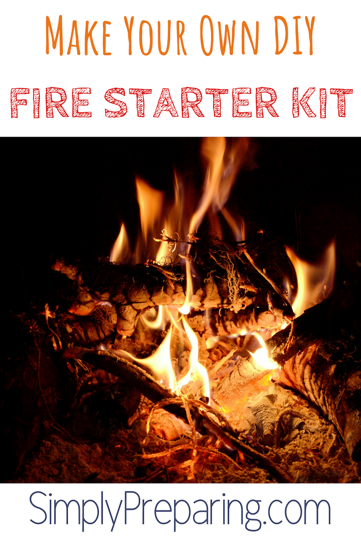 What you need in a DIY Fire Starter Kit