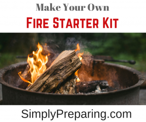 The Best Way To Start A Fire Is With A Fire Starter Kit!